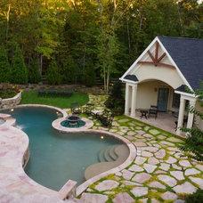 Traditional Landscape by McHale Landscape Design, Inc.