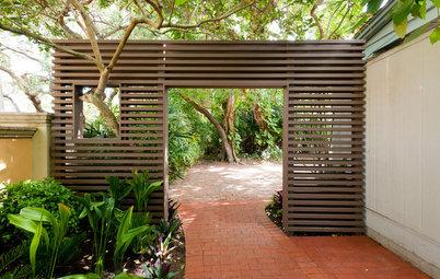 16 Sleek Designs For Contemporary Garden Gates