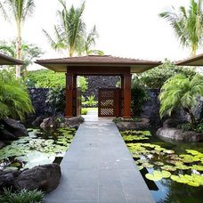 Tropical Landscape by Knudson Interiors