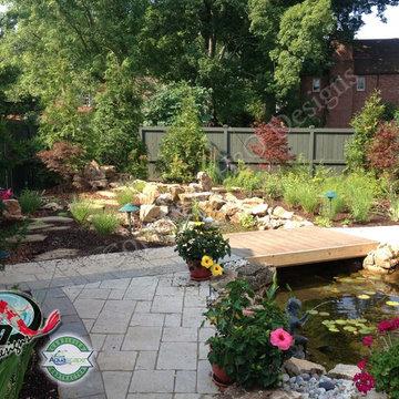KOI Pond, Backyard Pond & Small Pond Ideas for your Kentucky Landscape