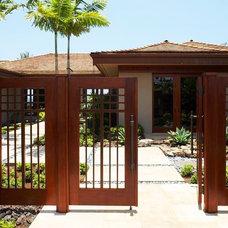 Tropical Landscape by GM Construction, Inc.