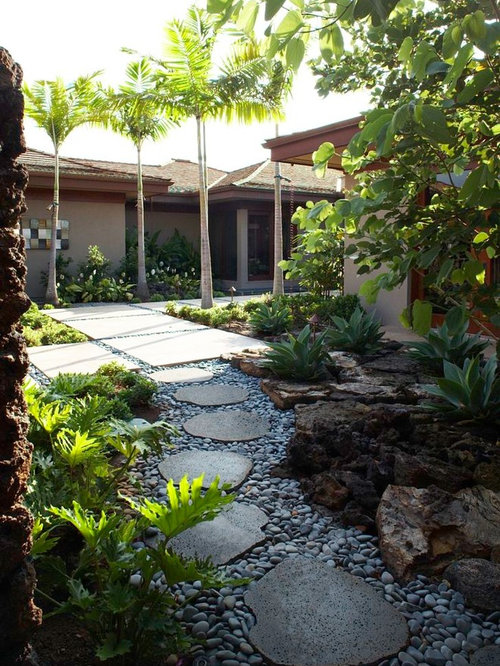 Tropical Hawaii Landscape Ideas Designs Remodels Amp Photos