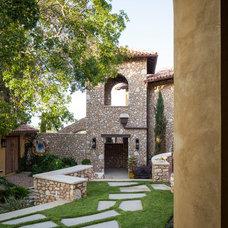 Mediterranean Landscape by Cornerstone Architects