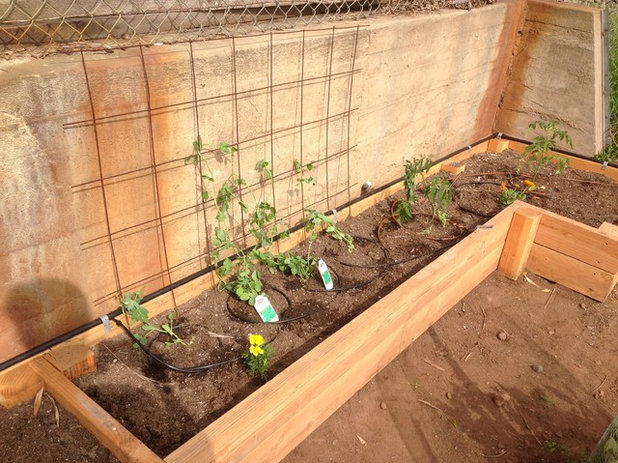 American Traditional Garden by Salt Lake Woodworks
