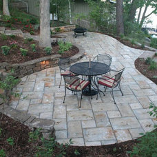 Traditional Landscape by Sunrise Gardens LLC - Landscape Design/Build
