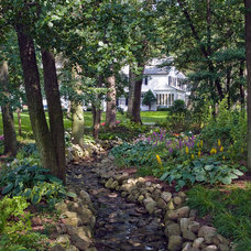 Traditional Landscape by Van Zelst Inc