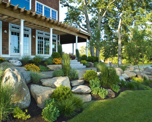 Beach Style Landscape Ideas, Designs, Remodels & Photos