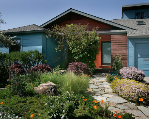 ranch style front yard landscape ideas designs remodels