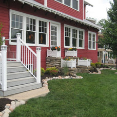 Traditional Exterior by High Prairie Landscape Group