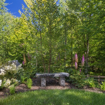 Lake Sunapee Home Surrounded by Greenery