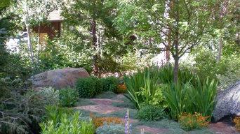 Lake Tahoe garden path