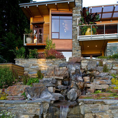 contemporary landscape by Darwin Webb Landscape Architects, P.S.