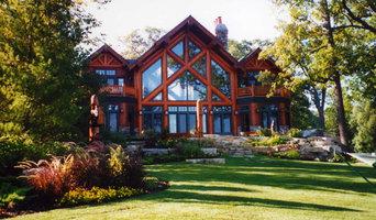 Lakefront Contemporary Landscape Design, Lake Geneva, Wisconsin