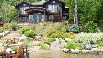 Lakeside Landscape on Lake George