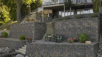 Lakeside Retaining Walls