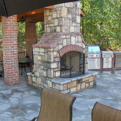 landscape by ARNOLD Masonry and Concrete