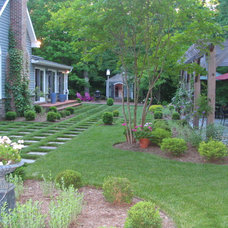 Traditional Landscape by Wentworth Nursery Inc.