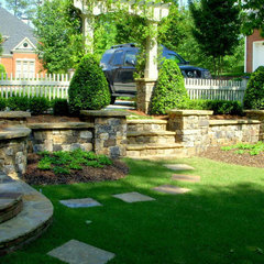 traditional landscape by Elements Landscape LLC