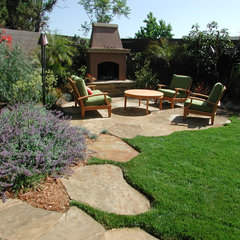 contemporary landscape by Stout Design-Build