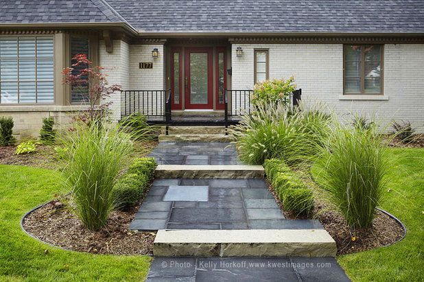 Contemporary Garden by K West Images, Interior and Garden Photography
