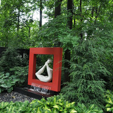 Contemporary Landscape by Forestgreen Creations Inc