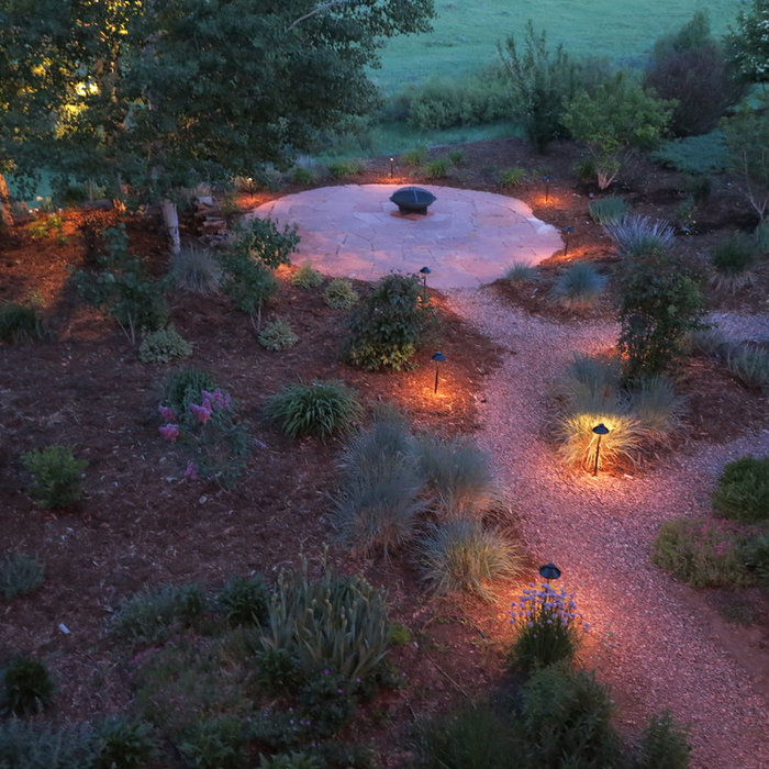 Landscape Lighting in Stagecoach