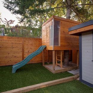 Idéer för att renovera en funkis trädgård