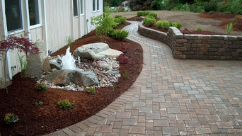 Landscape Renovation with New Entry