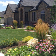 Traditional Landscape by OMG Landscape and Garden Services