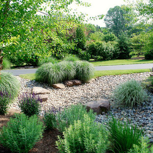 This is an example of a transitional landscaping in DC Metro.