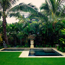 Tropical Landscape by Peter Vincent Architects