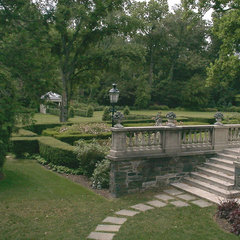 traditional landscape by Garrett Churchill Inc.