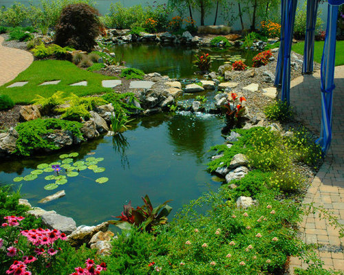Large Pond Home Design Ideas Pictures Remodel And Decor