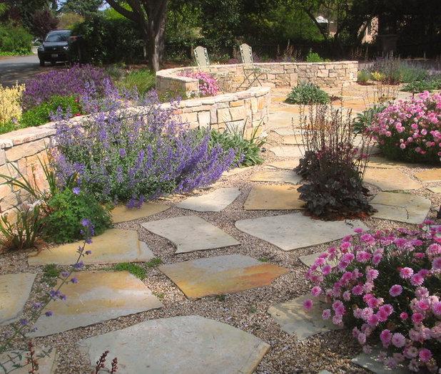 Mediterranean Landscape by Greenwood Design Associates, LLC