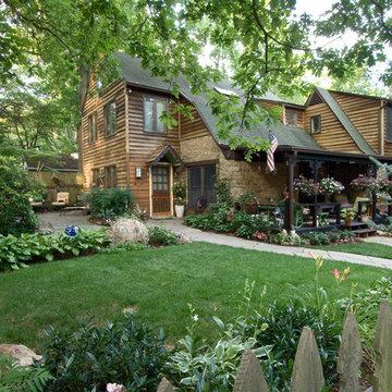 Lawn, patio, and porch
