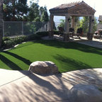 Green Roof And Pool House Landscape Traditional
