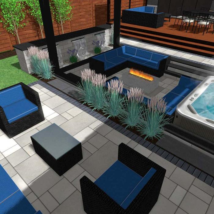 Modern Landscape Design Service