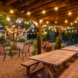 This is an example of a mid-sized southwestern landscaping in Austin.