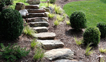 Lee Custom Stonework, Boulders and Pond Gallery