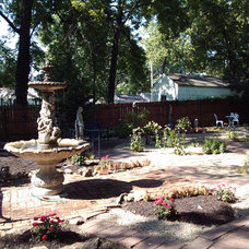 Traditional Landscape by Sturgis Material Inc