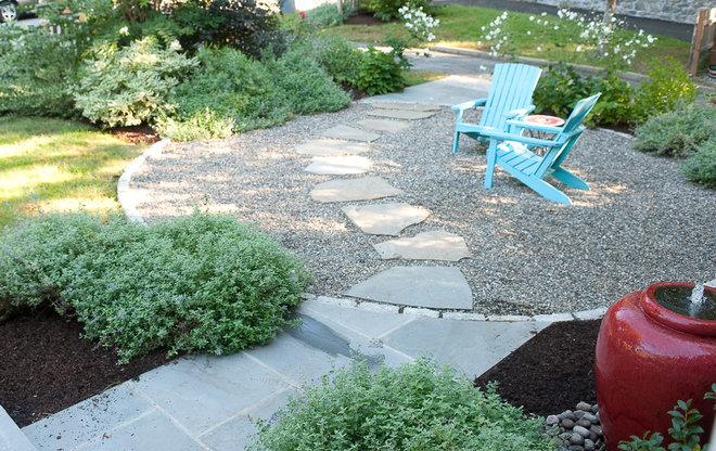 Eclectic Landscape by Westover Landscape Design, Inc.