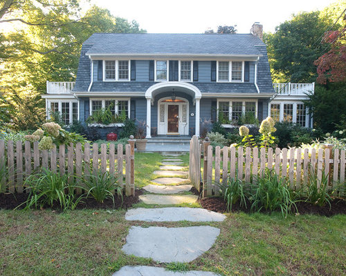Best Colonial Home Landscape Design Ideas Remodel