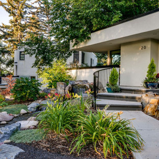 75 Beautiful Front Yard Waterfall Pictures & Ideas | Houzz on Front Yard Waterfall Ideas id=50425