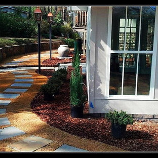 Design ideas for a traditional landscaping in Birmingham.