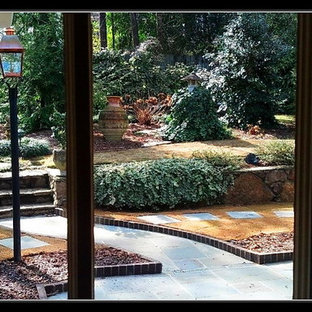 This is an example of a traditional landscaping in Birmingham.