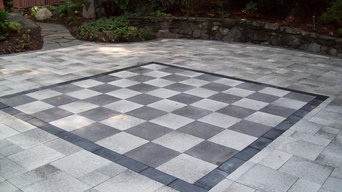 Life sized Paver Chessboard
