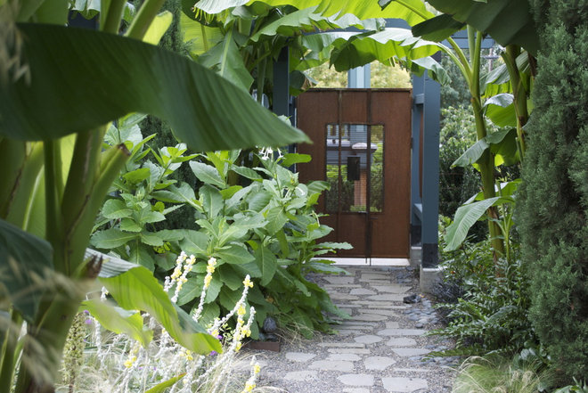 Tropical Landscape by Lilyvilla Gardens
