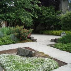 Contemporary Landscape by Garden Aesthetics