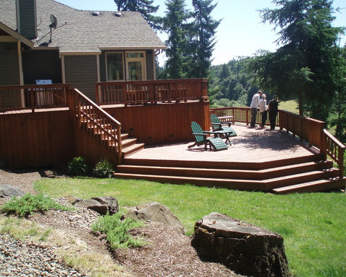 Best Multi Level Deck Design Ideas Remodel Pictures Houzz
