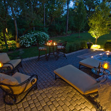 Contemporary Landscape by Grant and Power Landscaping